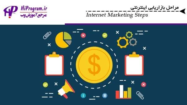 مراحل بازاريابي اينترنتي