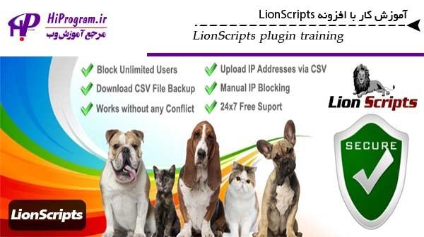 آموزش کار با افزونه LionScripts